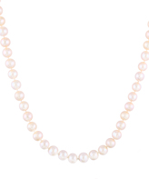 Bella Pearl White Pearl & Sterling Silver Necklace