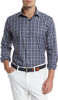 Peter Millar Newport Plaid Long-Sleeve Sport Shirt