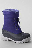 Classic Kids Expedition Snow Boots-Silver