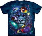 The Mountain Lion Of Cosmos Adult T-Shirt Tee