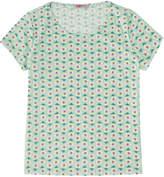 Cath Kidston Geo Flower Cotton T-Shirt