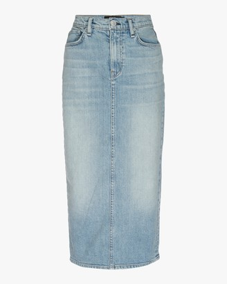 Hudson Paloma Denim Pencil Skirt