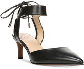 Franco Sarto Darby Pointed Toe Ankle-Tie Pumps
