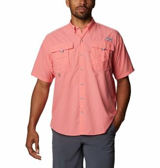 Bahama Ii Short Sleeve Shirt Columbia Men's Big & Tall Woven Tops
