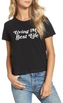 Private Party Women's Living My Best Life Tee