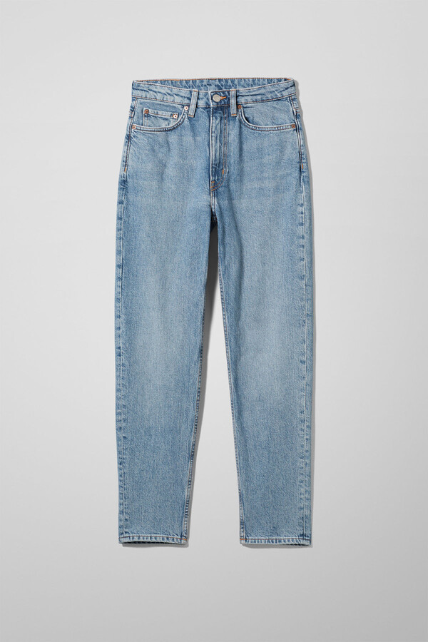Thumbnail for your product : Weekday Mika High Mom Jeans - Black