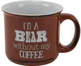 Boston Warehouse Brown 'I'm a Bear' Mug