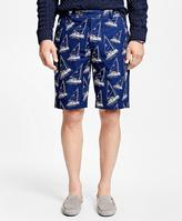 Brooks Brothers Sailboat Bermuda Shorts