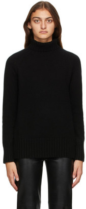 S Max Mara Black Mantova Turtleneck