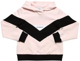 Givenchy Color Block Cotton Sweatshirt Hoodie