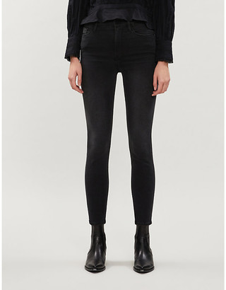 Frame Ali skinny cigarette high-rise jeans