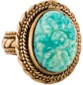 Stephen Dweck Carved Russian Amazonite ring