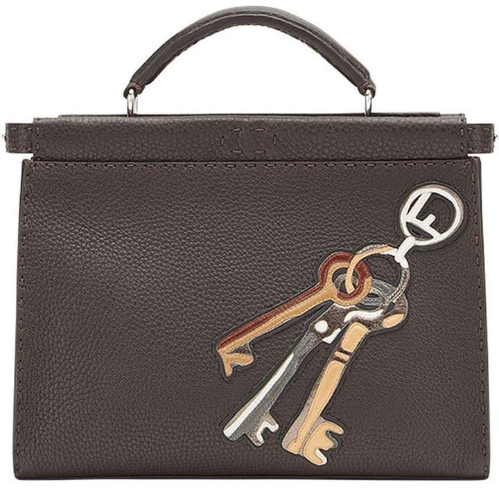 Fendi Key-printed Peekaboo