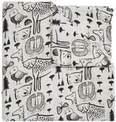 Wee Gallery Organic Wild Animal Print Swaddle