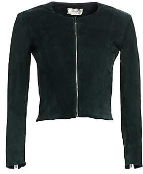 The Row Women's Stanta Suede-Blend Jacket
