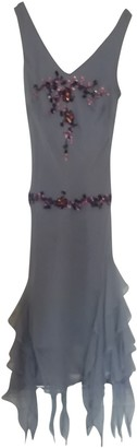 Pierre Cardin Grey Silk Dress for Women