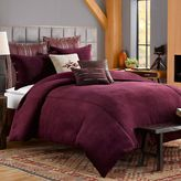 Bed Bath & Beyond Solid Chenille European Pillow Sham in Purple