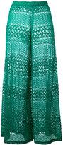 Missoni crochet palazzo pants - women - Rayon - 40