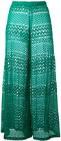 Missoni crochet palazzo pants