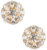 Nadri Cubic Zirconia Cluster Clip-On Stud Earrings