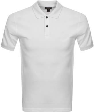 Belstaff Short Sleeved Polo T Shirt White