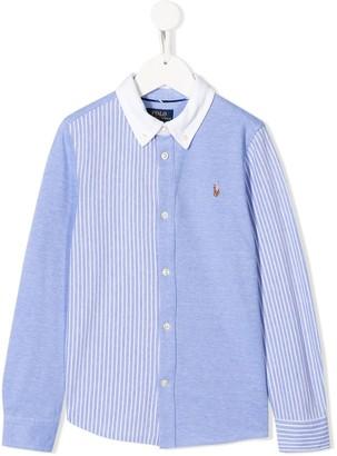 Ralph Lauren Kids embroidered logo shirt