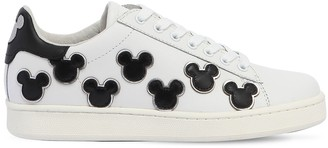 Moa Master Of Arts MICKEY MOUSE LEATHER SNEAKERS