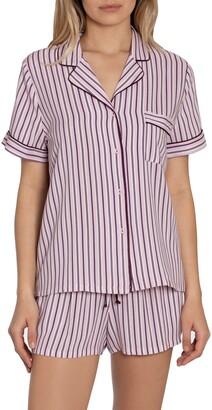 Jonquil Beautiful Dreamer Stripe Short Pajamas
