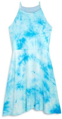 Aqua Girls' Tie-Dyed Sleeveless Dress, Big Kid - 100% Exclusive