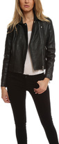 Roseanna Bubble Up Leather Jacket