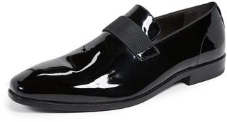 HUGO BOSS Highline Patent Slip-On Loafers