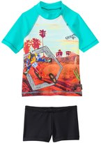 Tiger Joe Boys' Cactus Head Rashguard Set (6mos8yrs) - 8133209