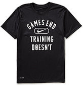 """Nike Dry Legend """"Games End"""" Graphic Short-Sleeve Training Tee"""