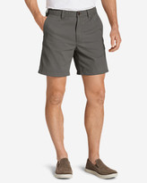 "Eddie Bauer Men's Legend Wash 7"" Chino Shorts - Solid"