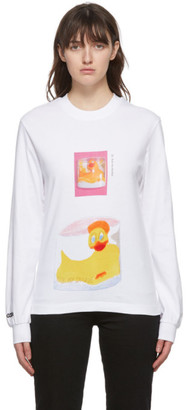 032c White Die Todliche Doris Edition Ducky Long Sleeve T-Shirt