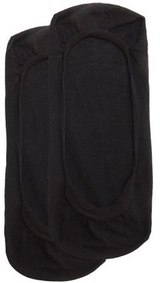 Wolford Footsies Cotton-blend Socks - Black