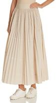 DKNY Accordion Pleat Maxi Skirt
