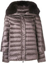 Hetregó fur trimmed padded jacket