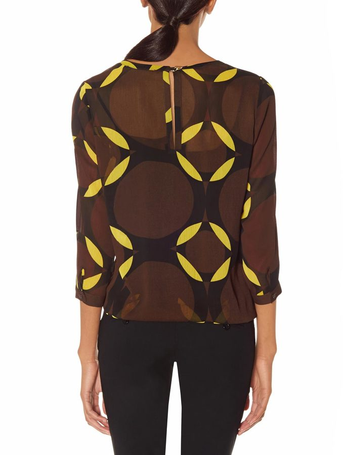 The Limited Outback Red® Printed Layering Blouse