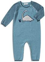 Angel Dear Boys' Striped Dino Coverall