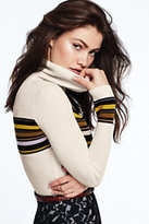 Lands' End Women's Turtleneck Sweater-Ink Black