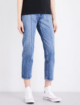 Levi's Altered straight high-rise jeans