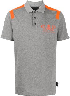 Philipp Plein Pique Jersey Polo Shirt