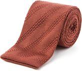 Gibson Diagonal Textured Tie