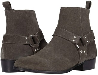 Walk London Brand Cuban (Stone Suede) Men's Boots