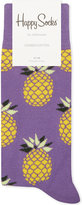 Happy Socks Pineapple Print Cotton Socks
