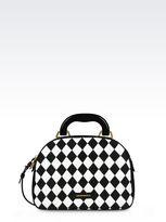 Emporio Armani Quilted Bauletto Bag
