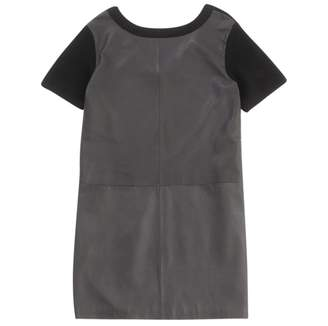 Marc by Marc Jacobs Black Leather Dresses