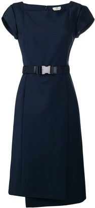 Fendi Belt Panelled Dress