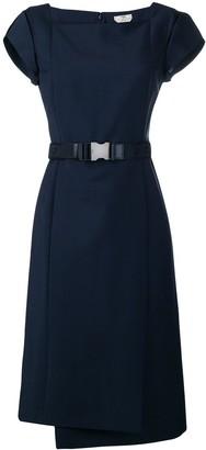 Fendi belt panelled dress